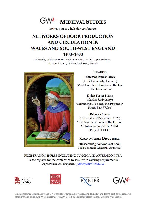 networks of book production conference poster