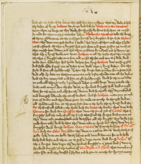 British Library Additional MS 59678, f.9v - a digitised page on the British Library website.