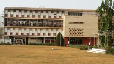 KNUST Library. Credit: Dr Ola Uduku